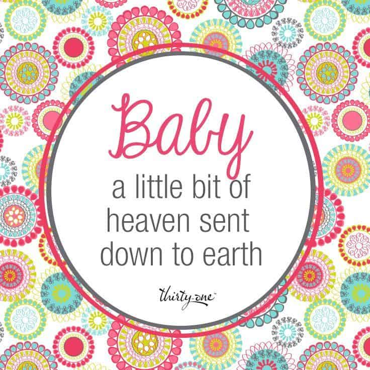 Baby Quotes Love