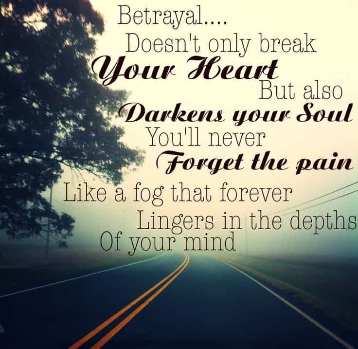 Quotes For Betrayal