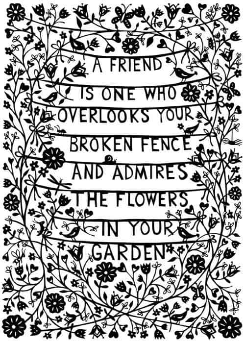 Friendship Quotes On True Friends