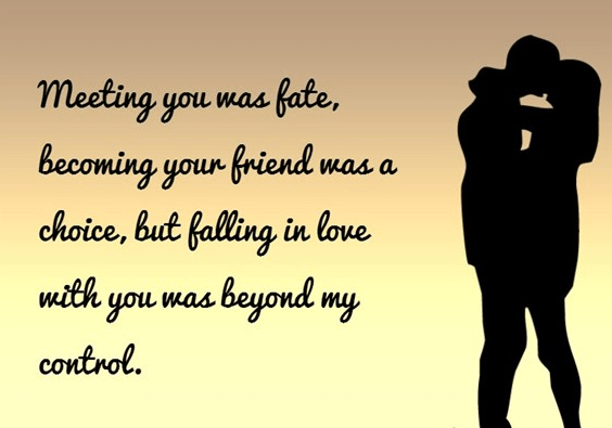 girlfriend quotes love fate