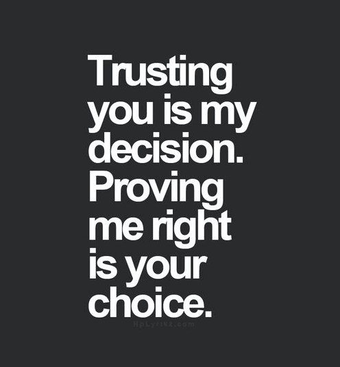 Trust Quotes And Trust Issues