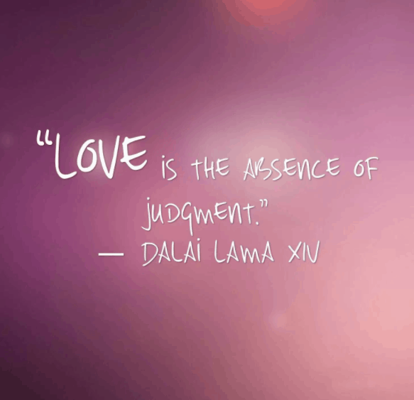 dalai lama quote on love