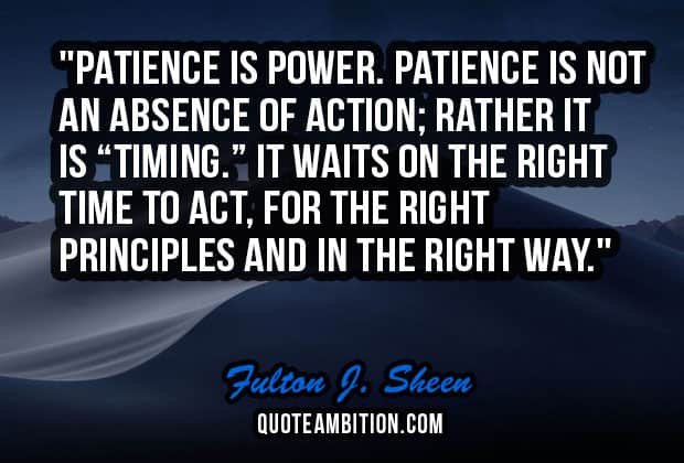 patience quote